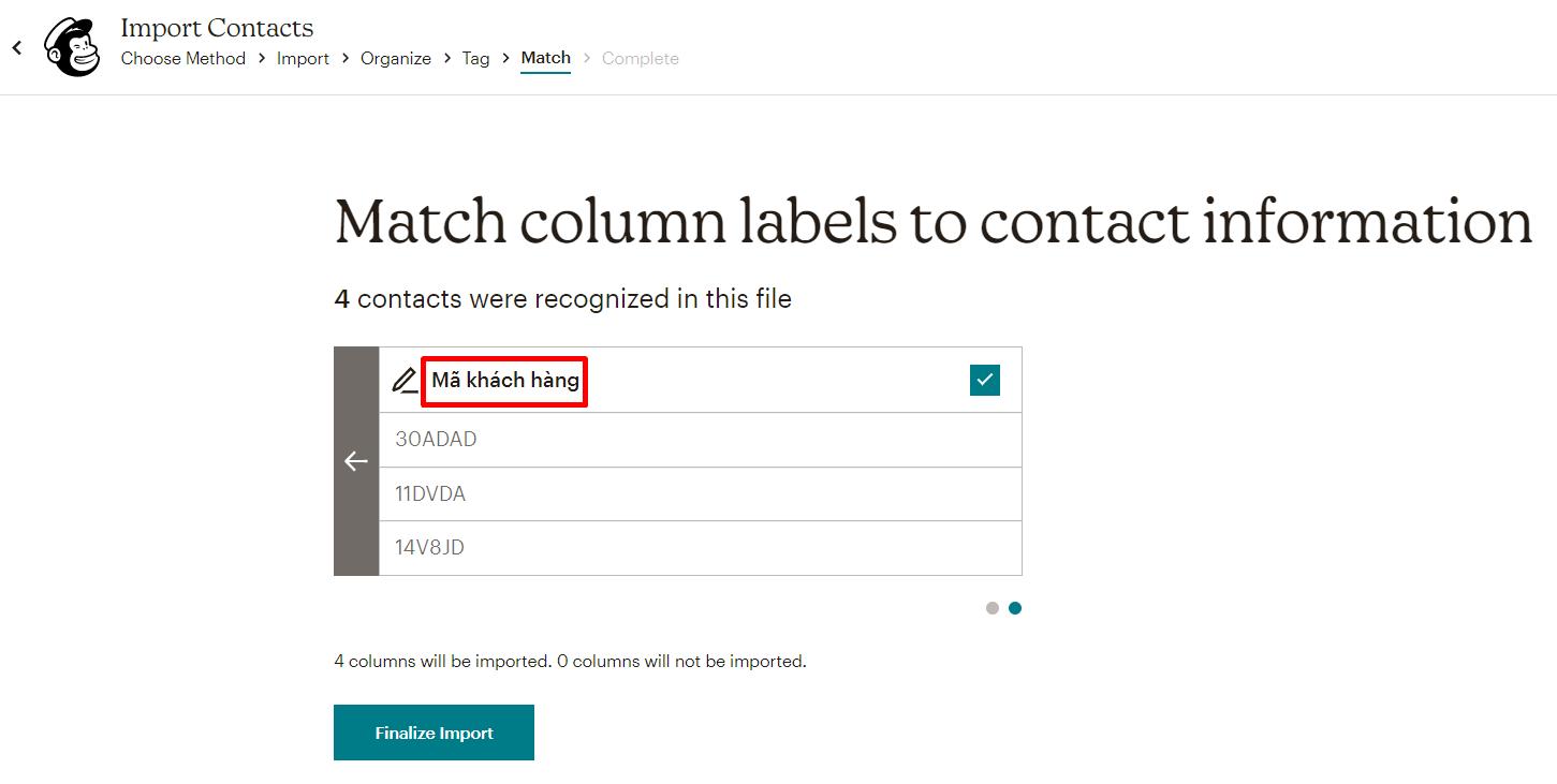 import-contacts-vao-Mailchimp